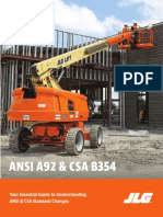 JLG ANSI & CSA Standards Readiness Guide