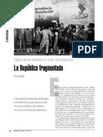 La republica fragmentada