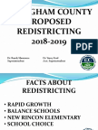 Redistricting Pres. Jan 3 & 18, 2018