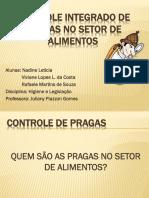 CONTROLE INTEGRADO DE PRAGAS NO SETOR DE ALIMENTOS.pptx