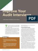 Improve Your Audit Interviews