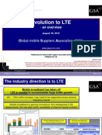 Evolution to LTE - An Overview August 2010