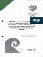 3287de_DIRECTIVA PARA EL USO, CONTROL Y MANTENIMEINTO DE VEHICULOS Y MAQUINARIA DE LA SUBGERENCIA DE GESTION DE RESIDUOS SOLIDOS DE LA MPCH.pdf