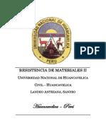 Problemas Resueltos de Resistencia de Materiales II - Método de Las Deformaciones Angulares