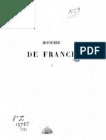 Michelet - Histoire de France t.1 (Des Gaulois à Charlemagne)