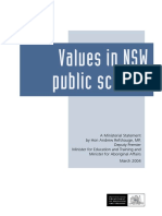 Values in NSW Public Education