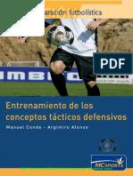 Libro Entrenamiento de Los Conceptos Tacticos Defensivos i - II