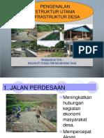Pengenalan Struktur Utama Infrastruktur Desa