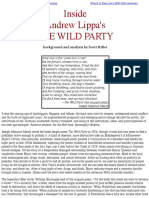 Inside the WILD PARTY by Scott Miller