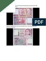 Billetes en El Perú Un Repaso a Los Intis de Los Ochenta