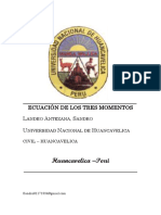 Resistencia de Materiales II - Ecuación de Los Momentos .