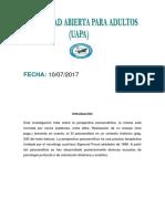 Tema 2 Teorias de La Personalidad, Eddy R.