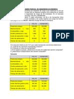 Tercer Examen Parcial de Ingenieria Economica