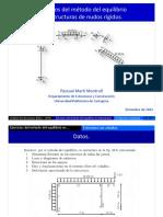 10. Ejercicios Del Metodo Del Equilibrio en Estructuras de Nudos Rigidos Prs
