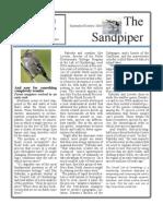 Sept-Oct 2008 Sandpiper Newsletter Grays Harbor Audubon Society
