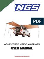 Camping Awning Manual 170530