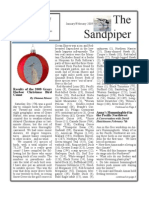 Jan-Feb 2009 Sandpiper Newsletter Grays Harbor Audubon Society
