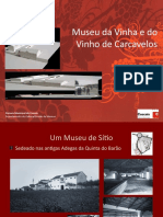 Apresentação - Museu da Vinha e do Vinho de Carcavelos