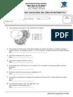 Ex Vacacional 6to Matematica