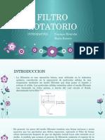 FILTRO ROTATORIO