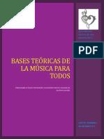 Bases Teoricas de La Musica Para Todos