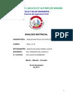 Informe de Matricial