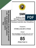 Un Smk Bahasa Indonesia Psp 2017
