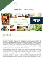 FRPT freshpet ICR Conference 2018 Presentation[1]