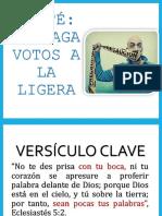 Jefté No Haga Votos a La Ligera Smart