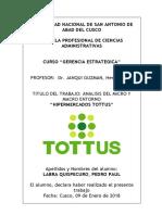 Formato de Descripción y Explicación Del Analisis Del Sector y Entorno