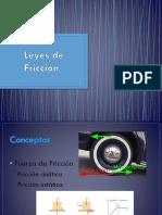Leyes de Fricción (1)