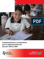 evaluacion Decreto 1290 CARTILLA