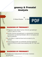 Pregnancy and Prenatal Analysis