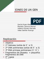 Alteraciones de Un Gen