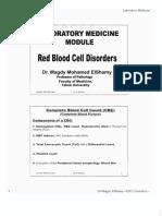 RBC Disorders-Prof Magdy ElShamy
