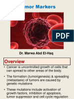 Tumor Markers Dr. Marwa
