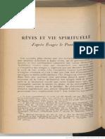 Rêves et vie spirituelle d'aprés Évagre le Pontique