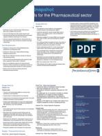 Budget 2010 Snapshot Pharmaceuticals