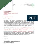 Practicum Refferal Letter