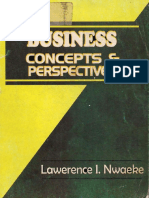 Business Concepts and Perspectives