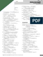 EF3e Preint Entry Test