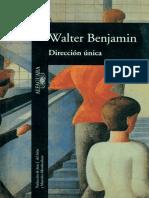 Benjamin Walter - Dirección Única
