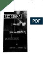 Six Sigma Project Management