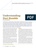 Ashrae Journal - Understanding of Duct Rumble