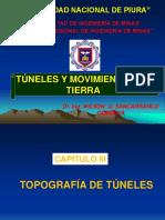 Cap. III Topografia de Tuneles