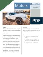 7.1 Case Study Intro- Local Motors - Universidade de Illinois Em Urbana-Champaign - Coursera