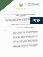 PKPU 2 Tahun 2017 Tentang Perubahan Atas PKPU No 1 Tahun 2017