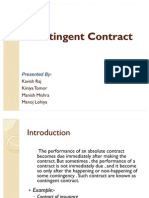 Contingent Contract (1)
