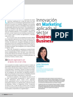 Innovación en Marketing Aplicado Al Sector Business to Business
