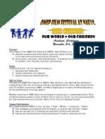 OMEP Film Festival Flyer